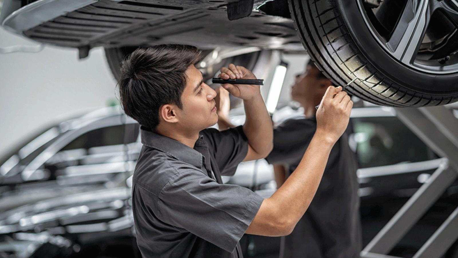 HAKA Autolackierzentrum Leistungen Aufbereitung von Leasing Fahrzeugen